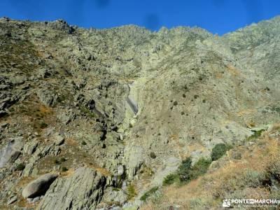 Mira,Los Galayos-Sierra de Gredos;cañon de rio lobos camino santiago real de san vicente pantano de